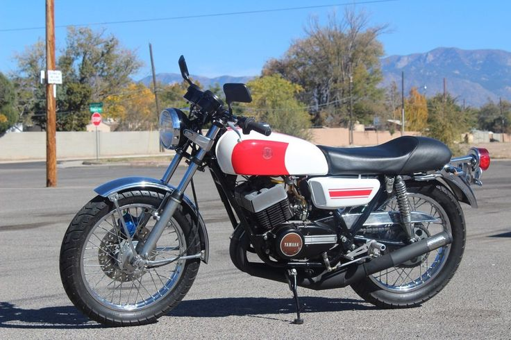 1975 Yamaha RD350 Cafe Racer for sale via Rocker.co