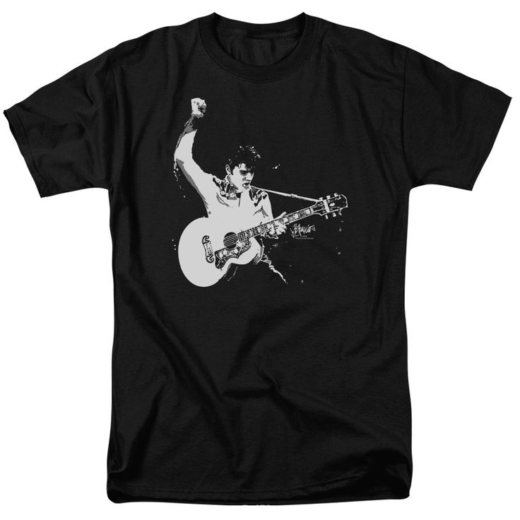 "Checkout our #LicensedGear products FREE SHIPPING + 10% OFF Coupon Code ""Official"" Elvis / Black&white Guitarman - Short Sleeve Adult 18 / 1 - Elvis / Black&white Guitarman - Short Sleeve Adult 18 / 1 - Price: $29.99. Buy now at https://officiallylicensedgear.com/elvis-black-white-guitarman-short-sleeve-adult-18-1"