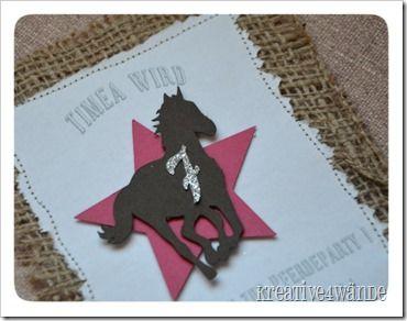 die 25+ besten ideen zu kindergeburtstag pferde auf pinterest, Einladungskarten