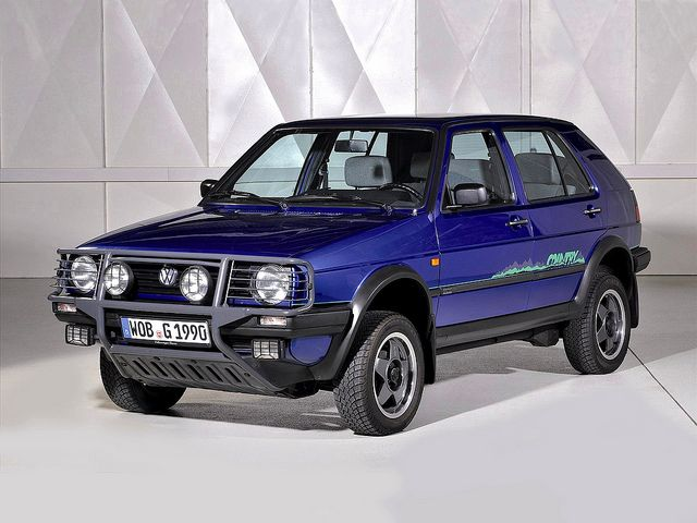 VW Golf II Country by Auto Clasico (start of suv-era)