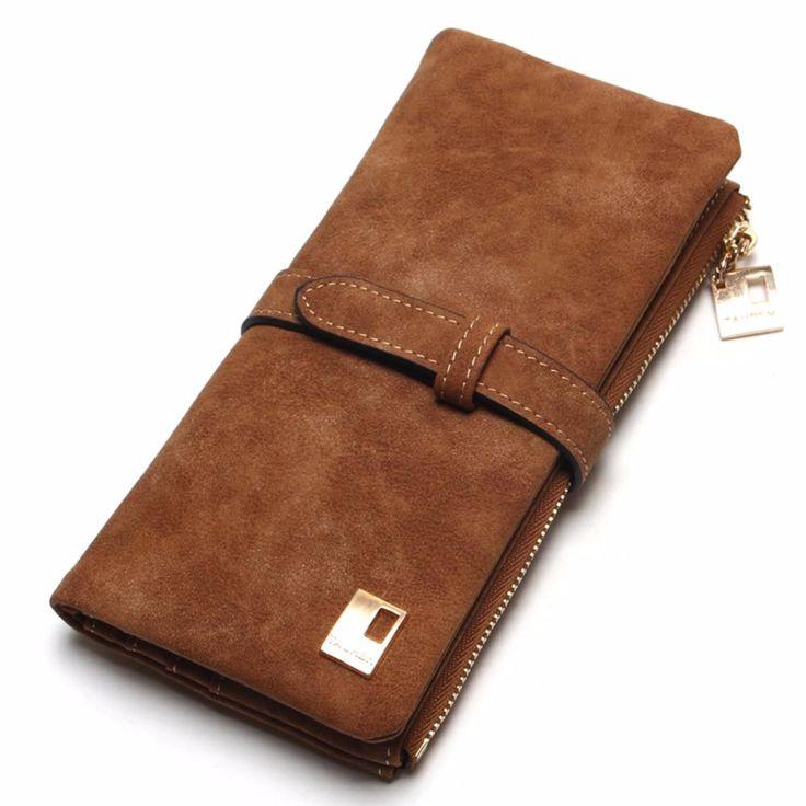 Fashion  Leather Women Wallet //Price: $9.95 & FREE Shipping //