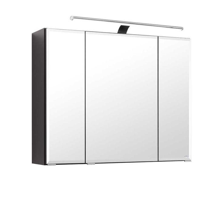 Badezimmer Spiegelschrank in Anthrazit 3D Funktion Jetzt bestellen unter: https://moebel.ladendirekt.de/bad/badmoebel/spiegelschraenke/?uid=0a25cce3-3f64-5555-ab20-a3462737e83c&utm_source=pinterest&utm_medium=pin&utm_campaign=boards #badezimmerkommode #bad #beistellschrank #spiegelschrank #spiegelschraenke #badschrank #badmoebel #badspiegelschrank #spiegel #badeschrank #lichtspiegelschrank #badezimmerspiegelschrank #badezimmer