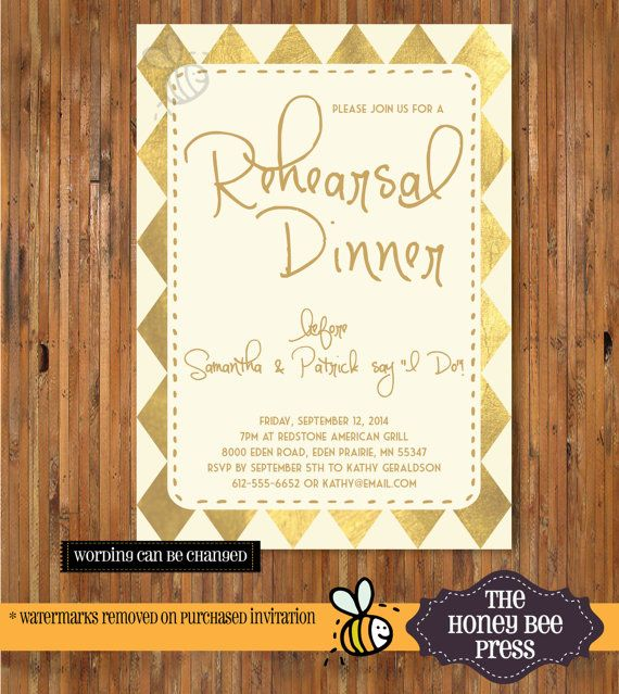 95 best Rehearsal dinner images – After Rehearsal Dinner Party Invitations