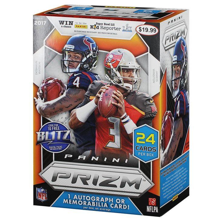 NFL Panini Prizm Football Trading Cards Full Box