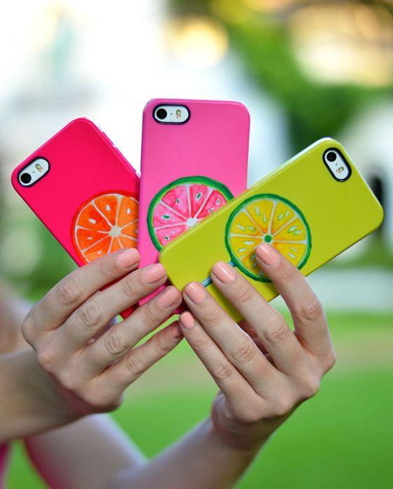 preppy iPhone case, orange, lemon, lime, iPhone case, preppy, southern, pink, clique
