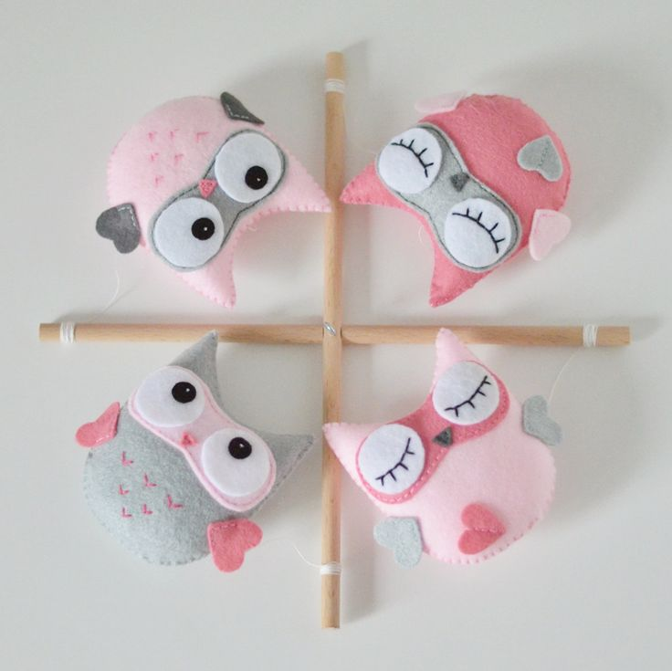 Baby Mobile, Owl Mobile, Nursery Decor, Baby Shower Gift Idea, Baby Girl, Personalized Baby Mobile, Made to Order, Eco, Wood, Pink by SewManUniverseMaster on Etsy https://www.etsy.com/listing/237194151/baby-mobile-owl-mobile-nursery-decor