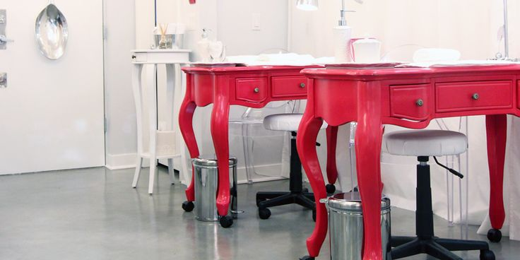 25 best manicure table ideas on pinterest nail station for Unique manicure tables