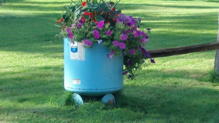 Neat Idea From Old Water Heater Quot For The Great Outdoors
