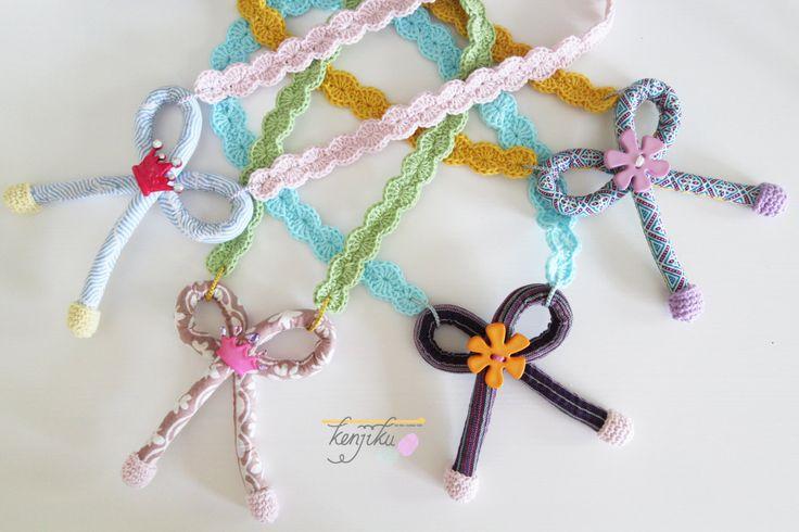 Pita Necklace - Kids Friendly Necklace by KenjikuMade on Etsy