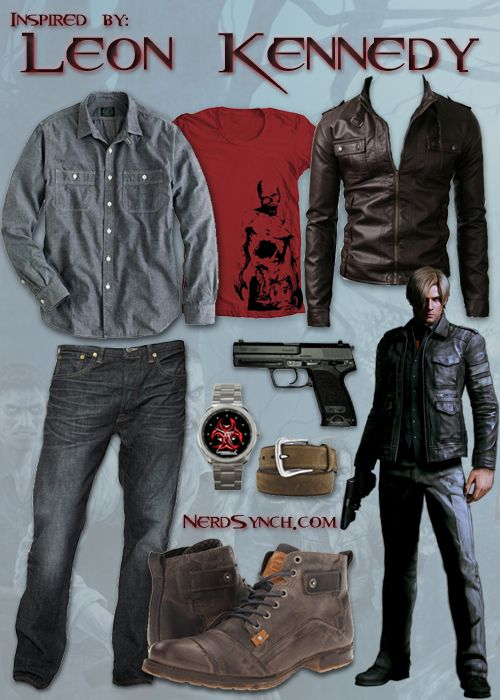 Inspired by Leon Kennedy (Resident Evil)
