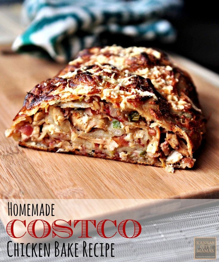Homemade Costco Chicken Bake Recipe