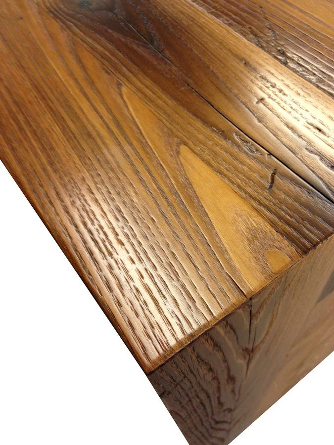 Reclaimed Chestnut Pastore Waterfall Counter in Virginia - 62 Best Reclaimed Wood Countertops Images On Pinterest Wood