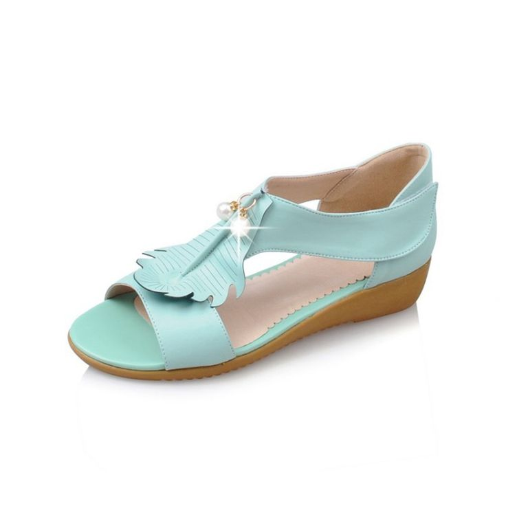 2017 sapatas das senhoras nova chegada cunhas confortáveis sandálias sapatas do verão das mulheres sandálias de plataforma de couro macio venda quente do sexo feminino em Sandálias das mulheres de Sapatos no AliExpress.com | Alibaba Group