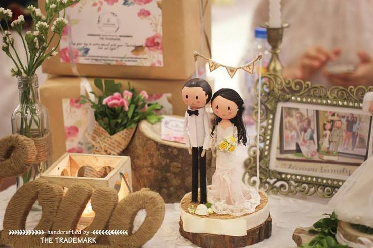 The Trademark's little corner 💐✨💕 M&T Wedding 💕 Sincere congratulation from the bottom of my heart on your engagement 💌 #thetrademark #wooddoll #weddingdecor #engaged #weddingdress #gift #groom #bride #weddinggift #weddingcake #weddingflowers #worldwide #couple #handcrafted #hanoi #vietnam #codau #chure #damcuoi #creative #handmade #caketopper #weddingcaketopper #marriage #customer #woodworking #etsyweddings #etsycraftparty #weddingdoll