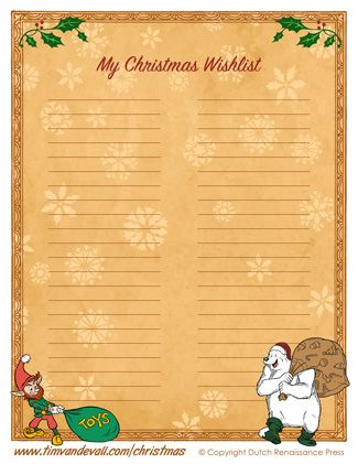73 best Christmas Printables images on Pinterest Christmas - christmas wish list paper