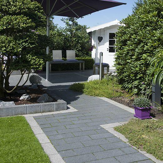 die besten 25+ garten pflaster ideen auf pinterest | gartenweg ... - Haus Und Garten Ideen