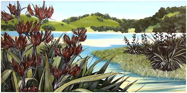 Kirsty Nixon New Zealand contemporary Landscape artist