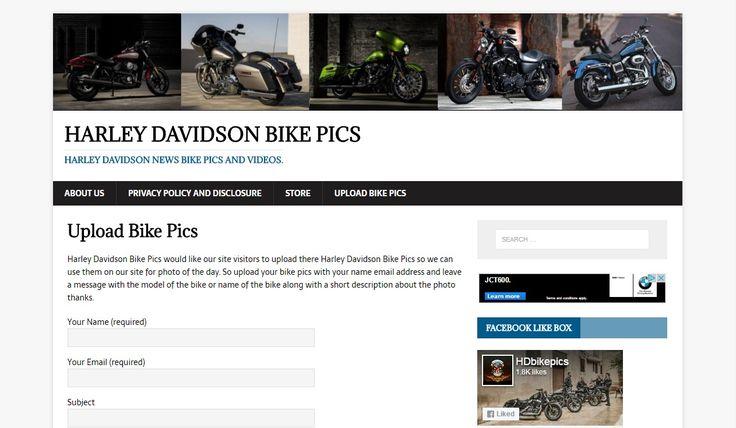 Upload Your Favorite Haley-Davidson Bike Pics
