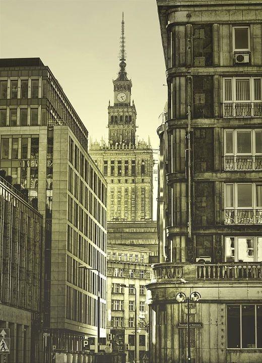 my first love, Warsaw
