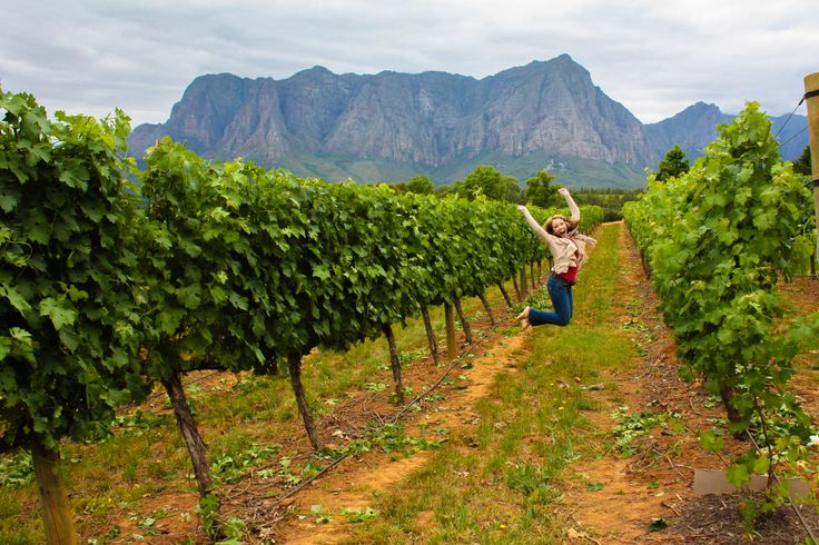 South African wine is a reason to jump for joy. Repin if you agree!