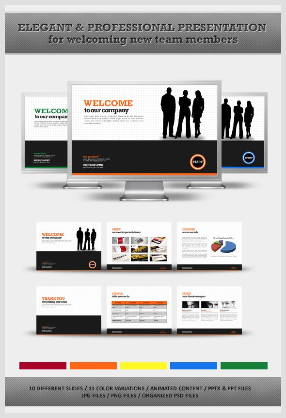 26 best powerpoint templates images on pinterest | role models, Presentation templates