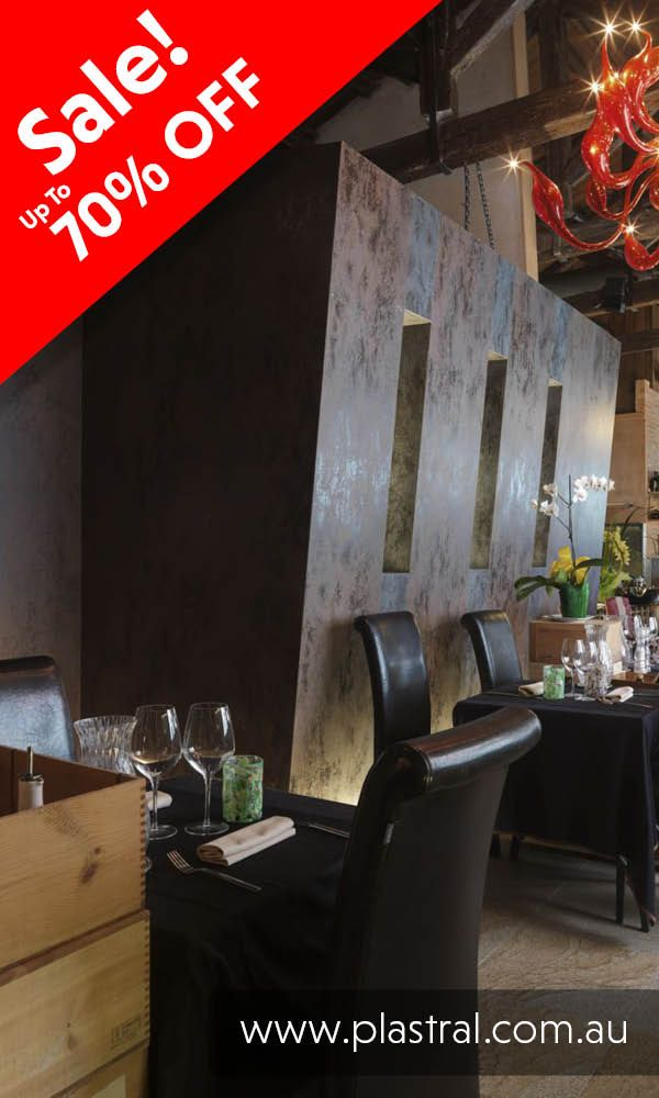 Stylish Restuarant Interior Walls using Laminam. Get to http://www.plastral.com.au/product/laminam-sale/ for our massive 70% OFF sale! #ceramictiles #ceramic #tiles #laminam #cladding #facade #interior #design #renovations #exterior