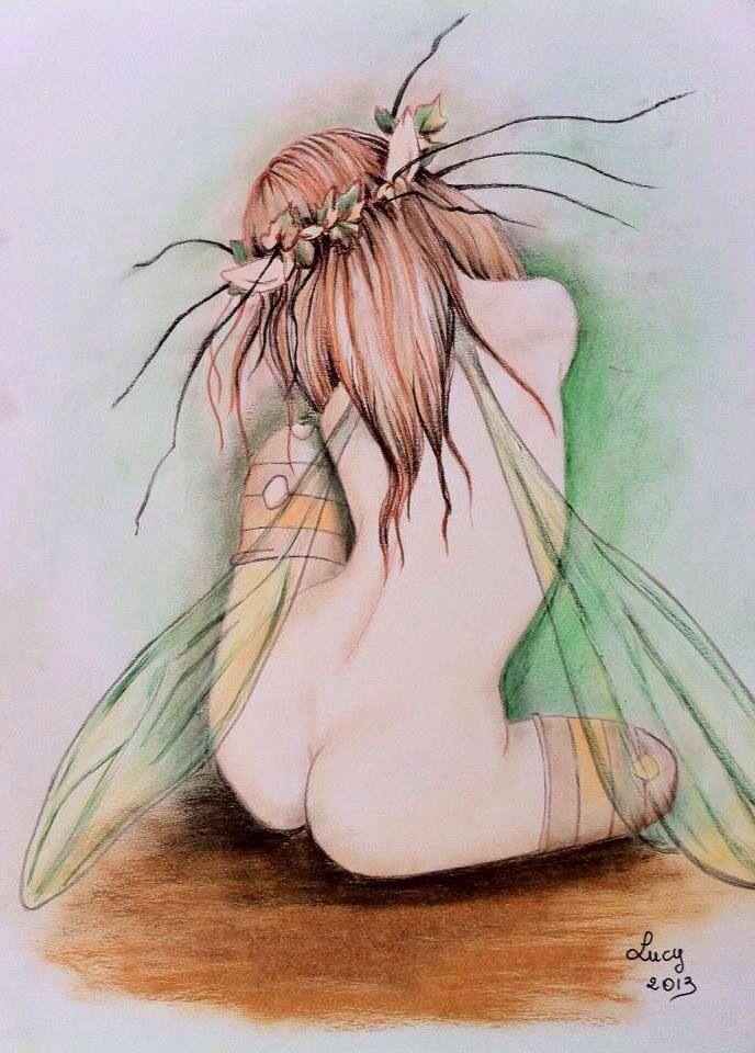 """Fatina""di Luciana. Giaccaglia  Soft Pastels"