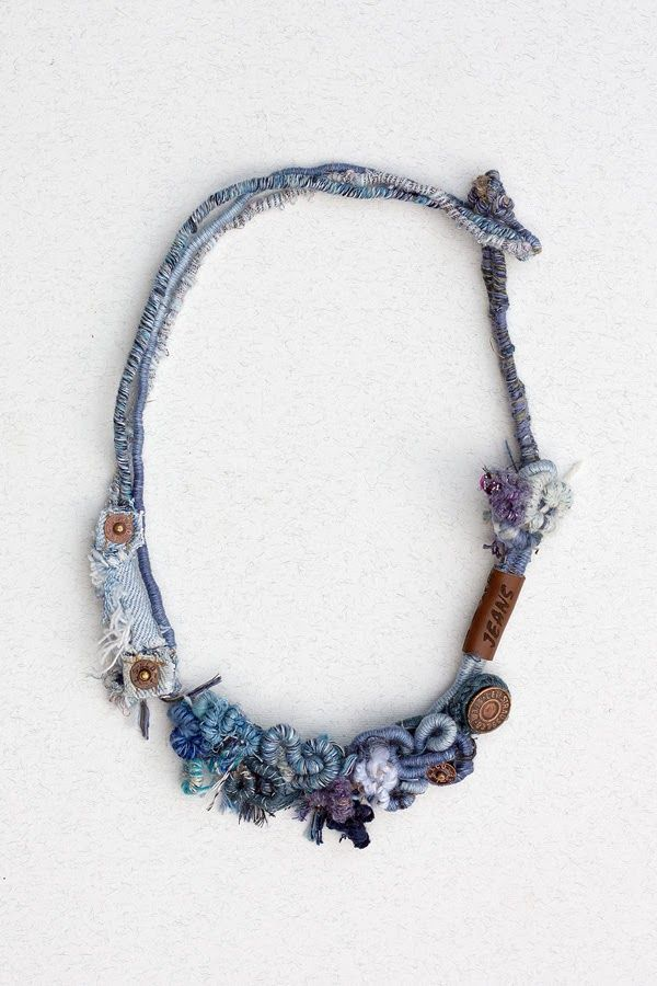 rRradionica: Miss Jeans . Handmade necklace, bracelet, ring and brooch