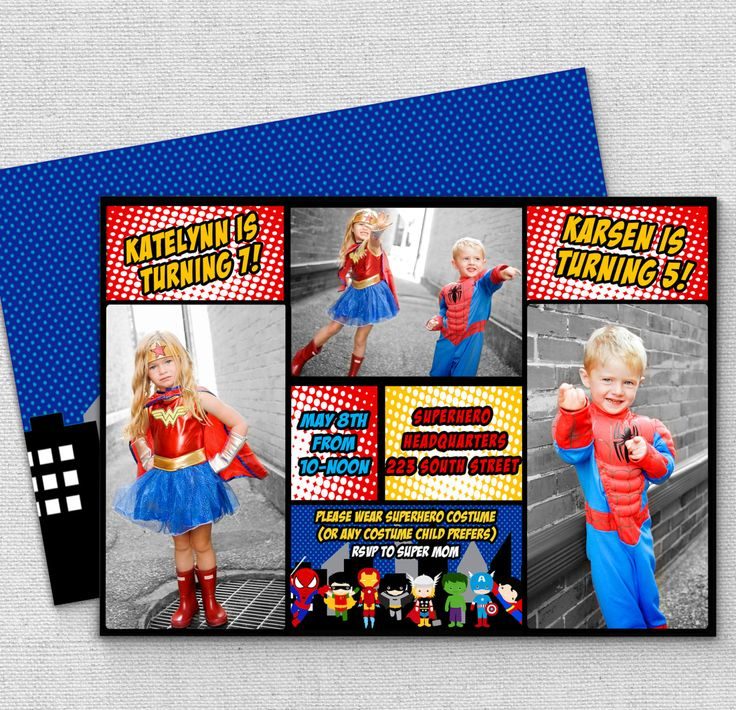 122 best invitations images on Pinterest | Birthday party ...