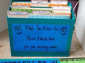 Teaching and Tech in the Middle School Classroom!: absent student work