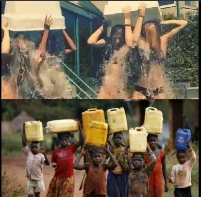 No tengo nada en contra de la campaña mundial #IceBucketChallenge, pero cuánta gente muere de sed en este momento!!