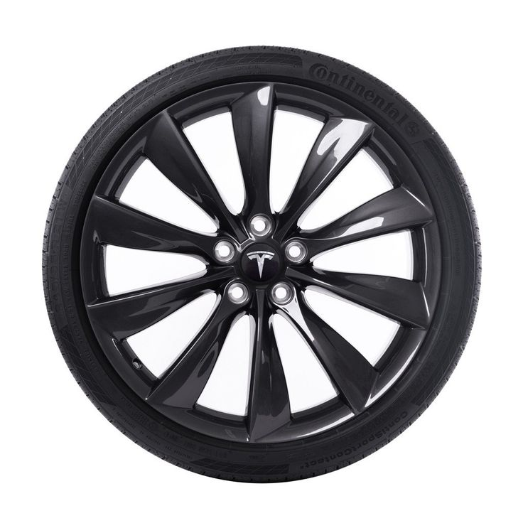 """21"""" Turbine Wheel and Tire Package - Grey"""