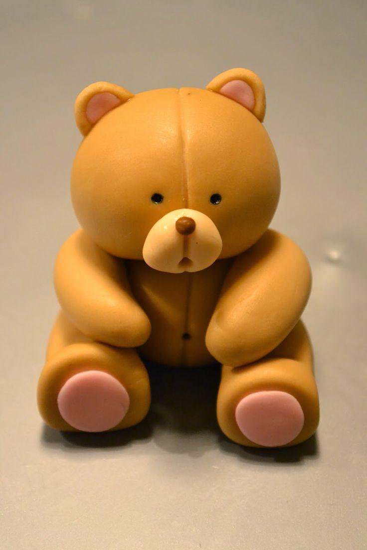St Heaven Street: Steg-för-steg Nalle! Tutorial Teddybear!