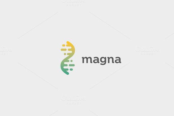 dna logo by Bureau on @creativemarket