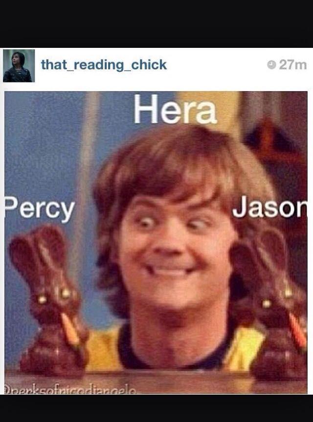 Percy Jackson Memes - HERA - Wattpad