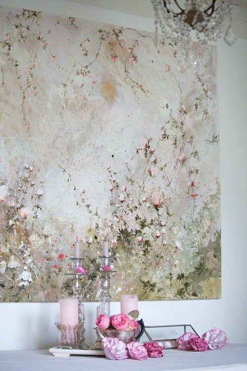 large flower art <3