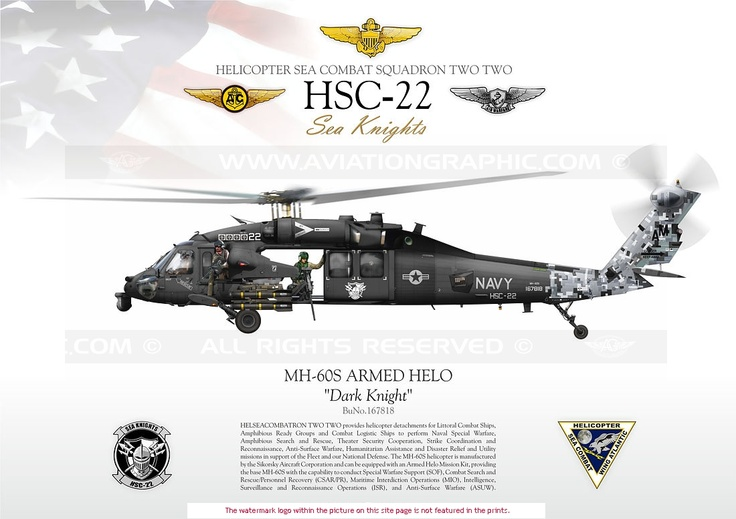 UNITED STATES NAVY MH-60S                              Expeditionary  Squadron 12 aircraft.