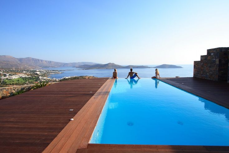 Holiday Villa in Lasithi, Crete - Deluxe minimalist style holidays villa with private pool