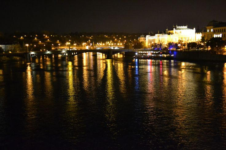 Prague has stunning night views