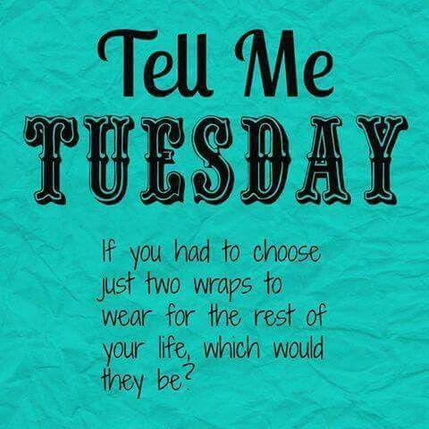 Tell me Tuesday
