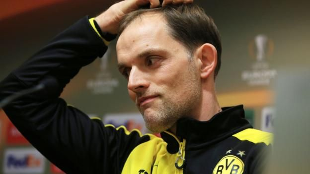 "Hans-Joachim Watzke (centre) said he and Michael Zorc (right) ""did not always see eye to eye"" with Thomas Tuchel (left) Fan criticism following Thomas Tuchel's departure as Borussia Dortmund boss prompted the club's chief executive to issue a statement questioning the..."