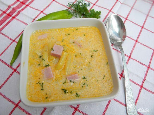 Aleda konyhája: Sonkás zöldbableves