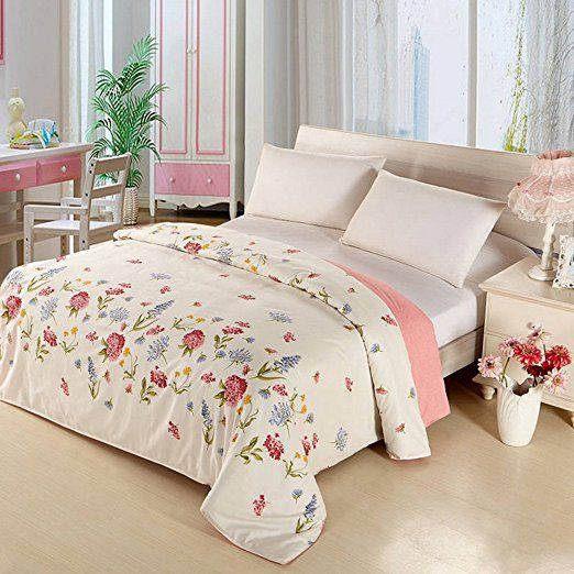 Ieasycan Bedding Outlet Comforter Set Deep Pocket - Queen Cotton and Soft Floral Bed Sheet Set 4Pcs Bed In a Bag For Bedroom: Amazon.ca: Home & Kitchen