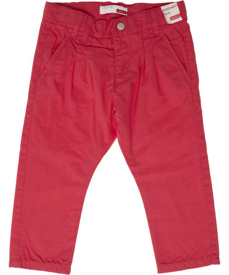 Name It framboos-roze chino broek voor meisjes. name-it.nl.emilea.be