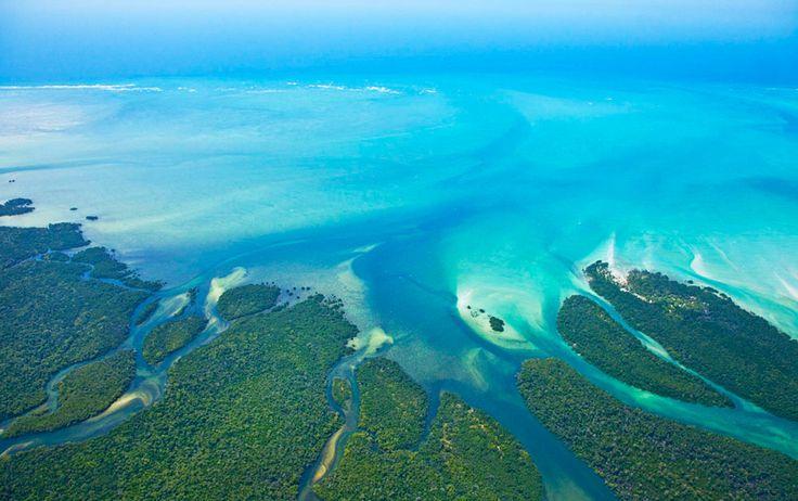 Quirimbas archipelago in northern Mozambique