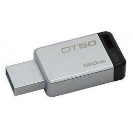 Capacidad de Almacenamiento:128GB  Características Físicas Color:Negro  Información General Cantidad de Unidades:1 Código de Fabricante:DT50/128GB Dirección Web de Fabricante:http://www.kingston.com Fabricante:Kingston Technology Company Información de Marketing: DataTraveler® 50 es un dispositivo Flash USB liviano con capacidades de 8GB a 128GB1.