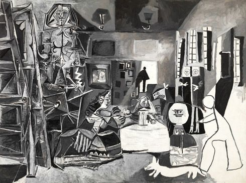 Picasso, The Maids of Honor (Las Meninas, after Velázquez)