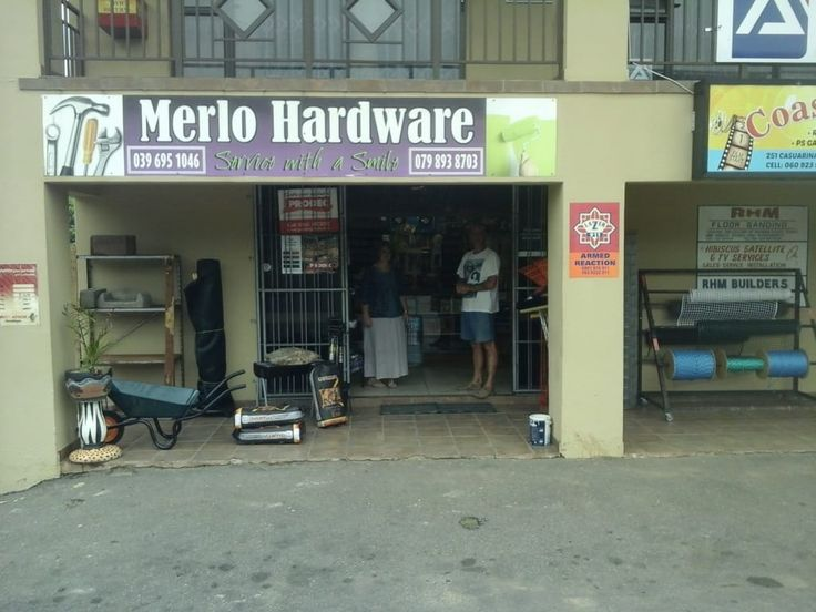 Merlo Hardware & Electrical is a gem along the South Coast, frequented by the locals who only speak well of this family-owned concern. Well-known for providing top quality products in the building trade, this store is easy to find in along the main road in Sea Park, suburb of Port Shepstone.