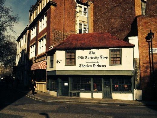The Old Curiosity Shop – London, England - Atlas Obscura