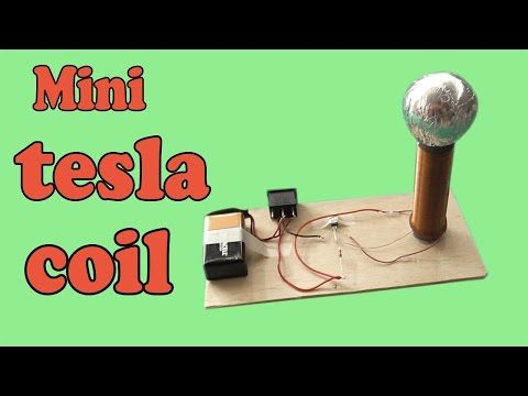 DIY Tesla Slayer Exciter Coil Tutorial Mini How to Build Easy Circuit Explanation - YouTube